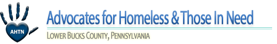 Advocates for Homeless & Those In Need logo