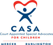CASA (Court Appointed Special Advocates) for Children of Mercer County logo