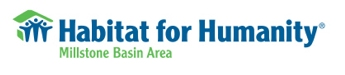 Habitat for Humanity (Millstone Basin Area) logo