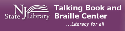 New Jersey State Library Talking Book & Braille Center logo