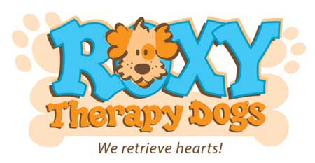 Roxy Reading Therapy Dogs logo