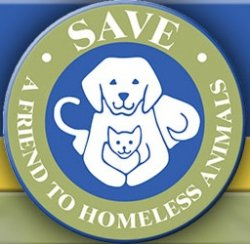 SAVE, A Friend to Homeless Animals logo